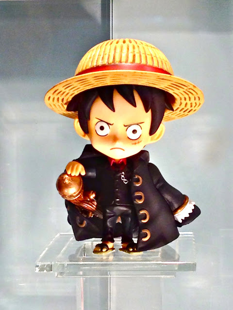 One Piece miniature at Singapore Toy Game and Comic Convention