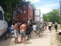 La Cámpora Luján: Continúa la colaboración con los afectados por las inundaciones