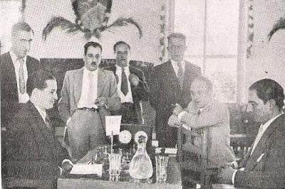 Partida Silberman-Canal en el Torneo Internacional de Ajedrez de Reus 1936