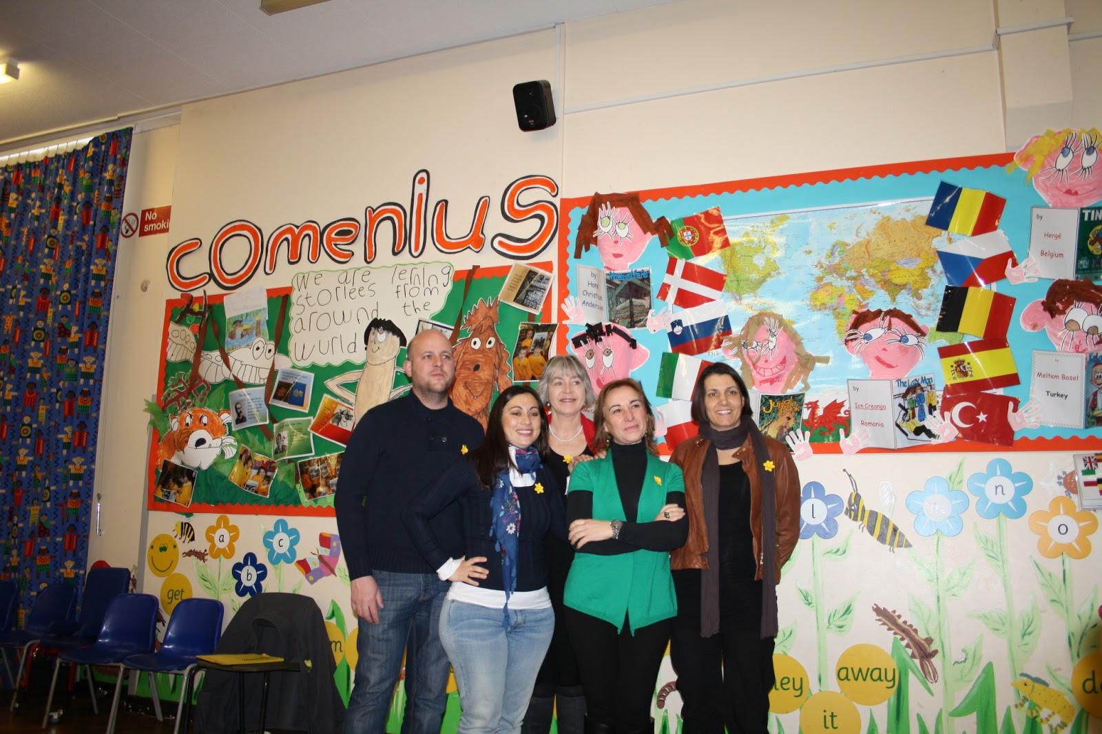 Majal Blanco Teachers in Wales. Comenius Project