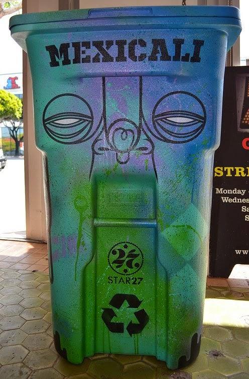 Basureros callejeros basureros callejeros - Cubos de basura originales ...