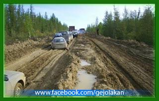 Foto: 10 Jalan Terburuk di Rusia