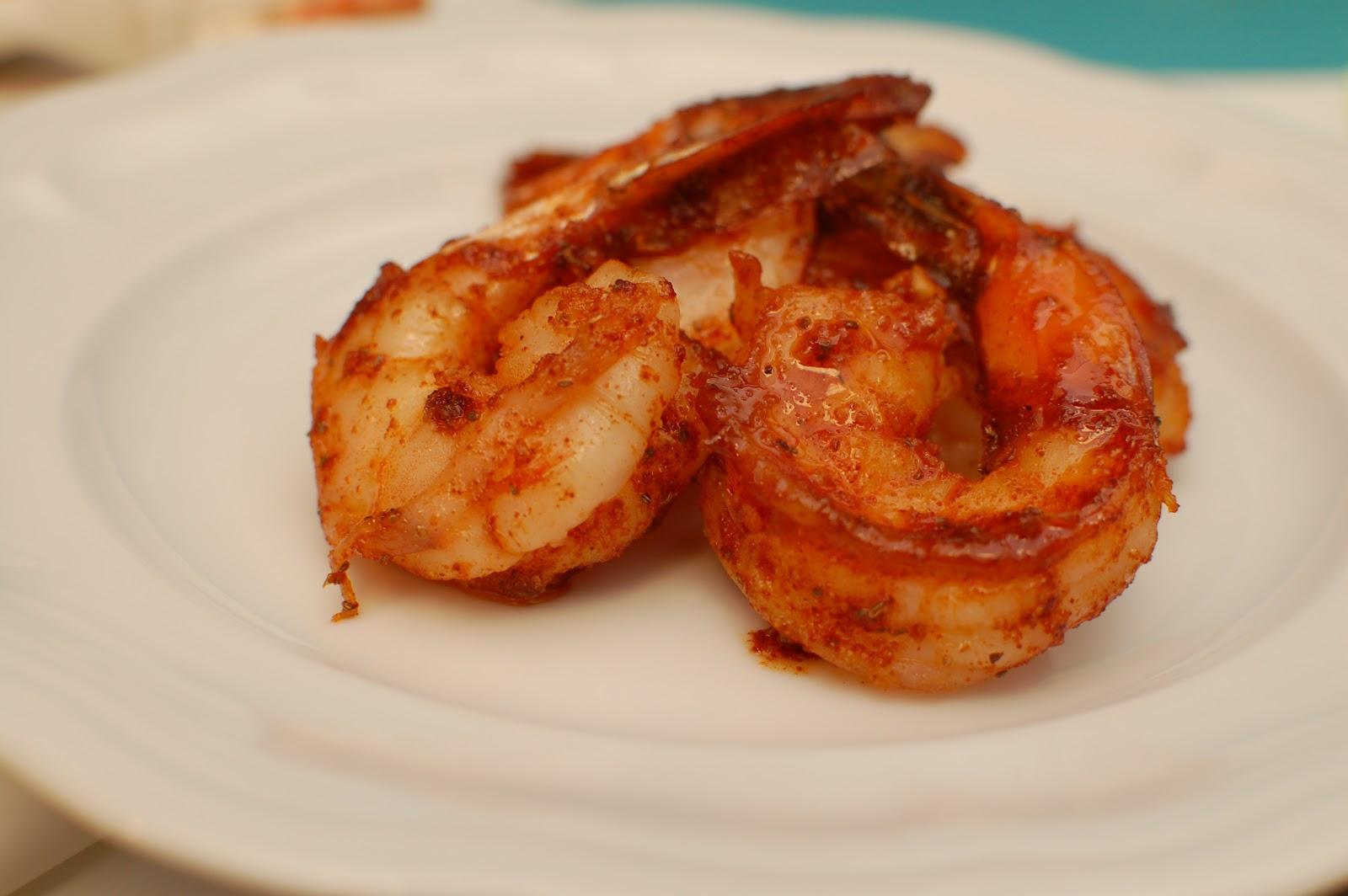 lbs good spoon: roasted buffalo shrimp