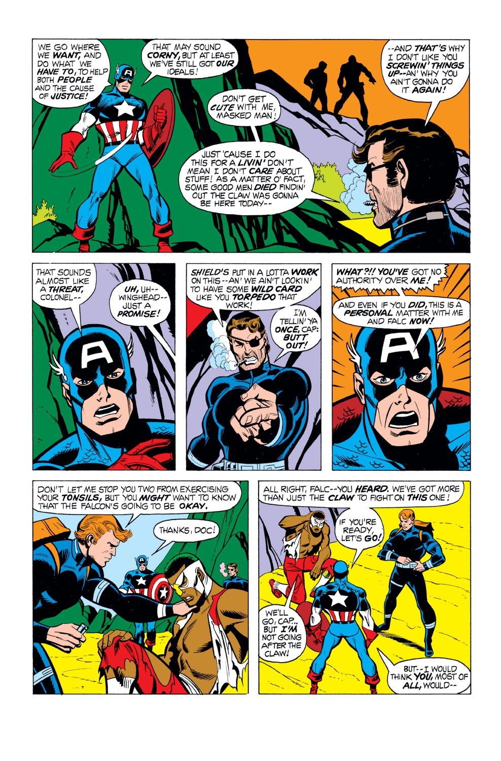 Captain America (1968) Issue #165 #79 - English 3