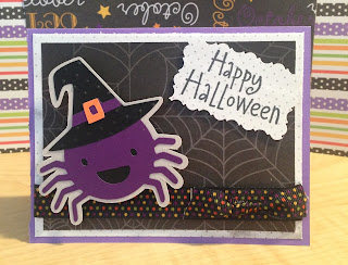 Cricut, Create-A-Critter 2, Action Wobble, Halloween Card