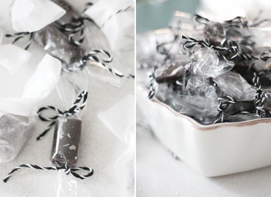 chokladkola med lakrits