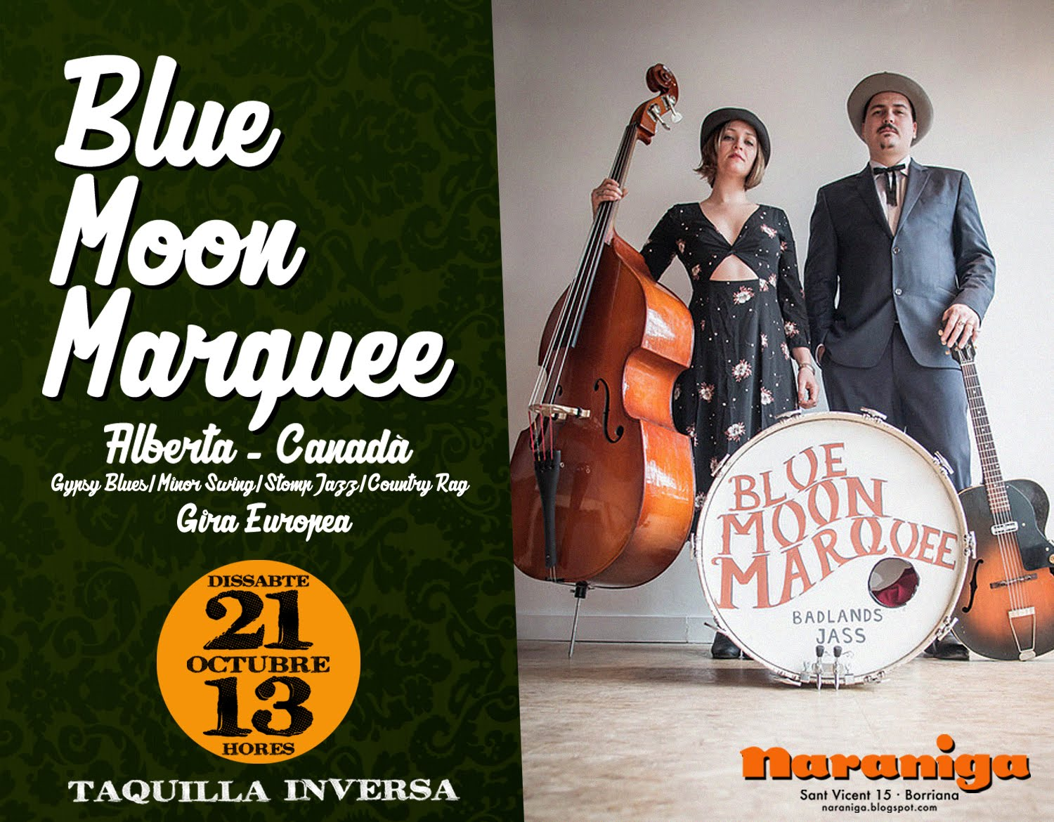 BLUE MOON MARQUEE - 21/10/17- 13H.