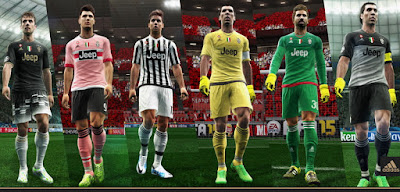 PES 2013 Juventus Official 2015-16 Kits By Abdallah El Ghamry