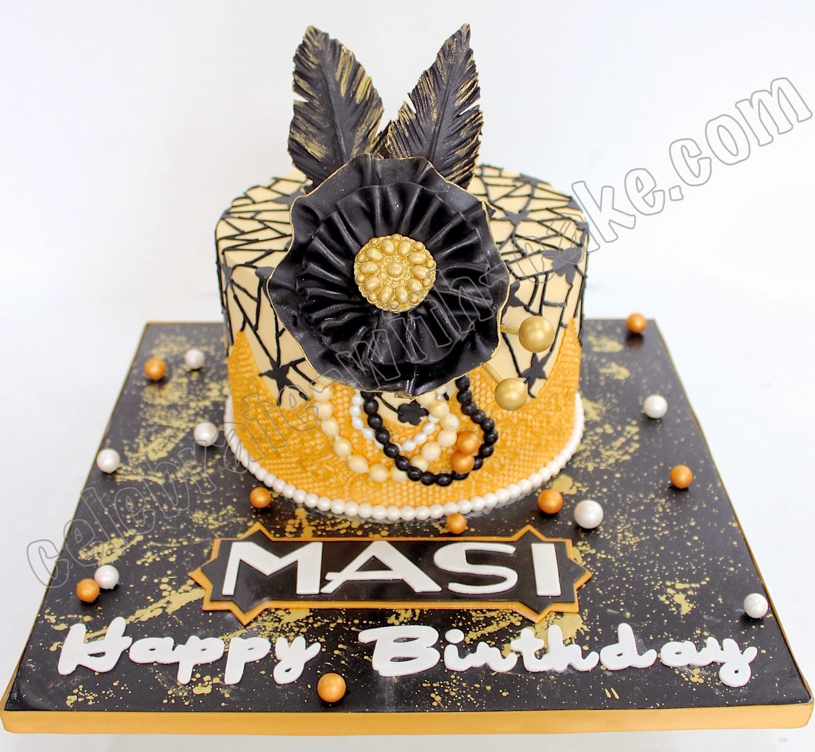 Celebrate With Cake Great Gatsby 21st