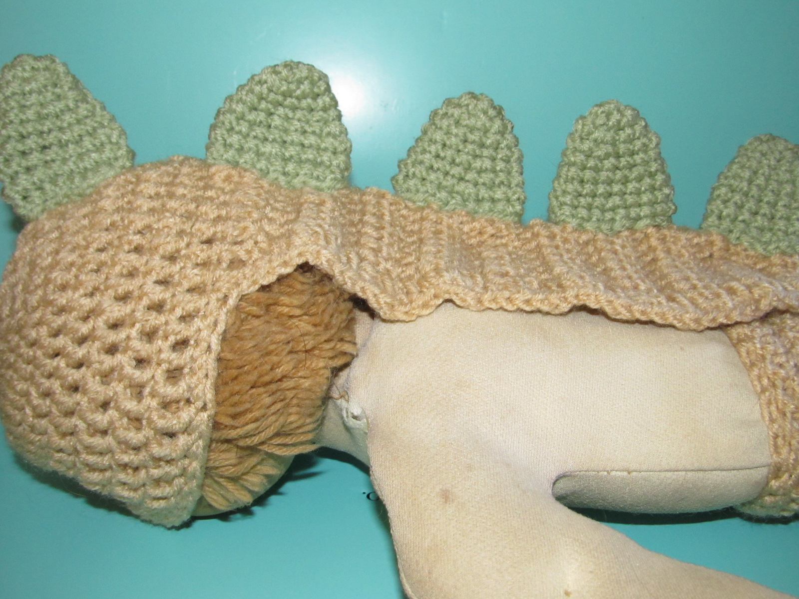 Simply Crochet And Other Crafts Dinosaur Newborn Baby Prop