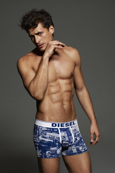 Diesel Spring-Summer 2012 men underwear or how to become a billboard