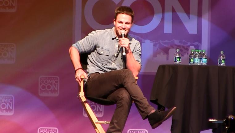 Arrow - Stephen Amell Previews Season 3 at Salt Lake Comic Con