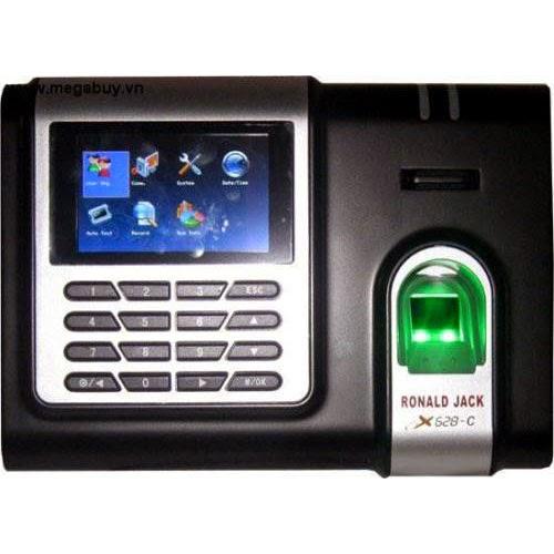 Máy chấm công vân tay ronald jack X628C+ID