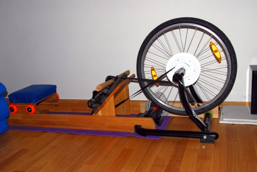 build a rowing machine