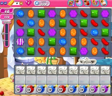 Candy Crush Saga 830