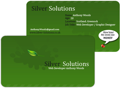 80) Business Card