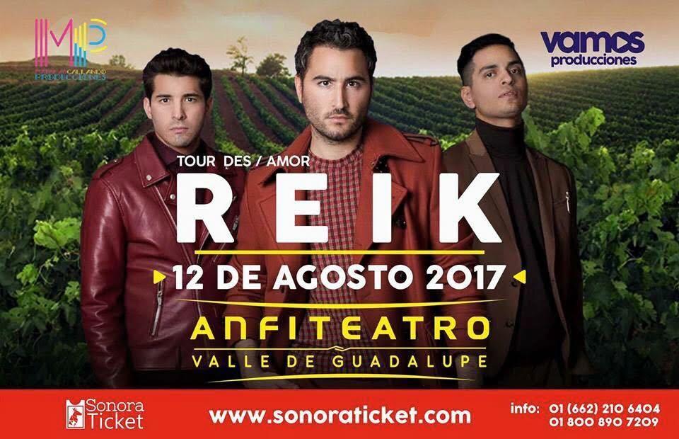 REIK TOUR DES / AMOR 12 AGOSTOS 2017