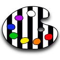 application mobile zebra paint