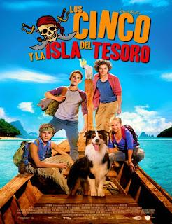 Los cinco y la isla del tesoro (2014) Online