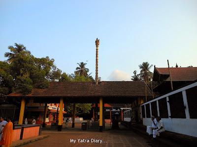 Gopuram of Trichambaram temple, Kannur- Kerala