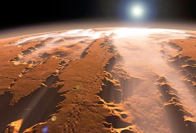 mars planet atmosphere