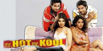 Poster Of Bollywood Movie Mr. Hot Mr. Kool (2007) 300MB Compressed Small Size Pc Movie Free Download worldfree4u.com