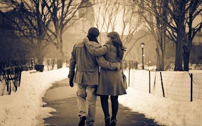 Love Couple Winter