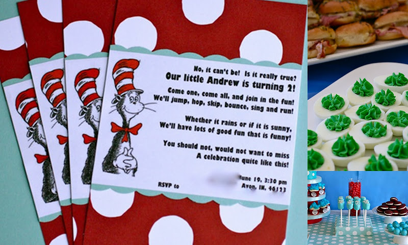 Dr. Seuss inspired party 4