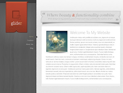 Glider WordPress Theme