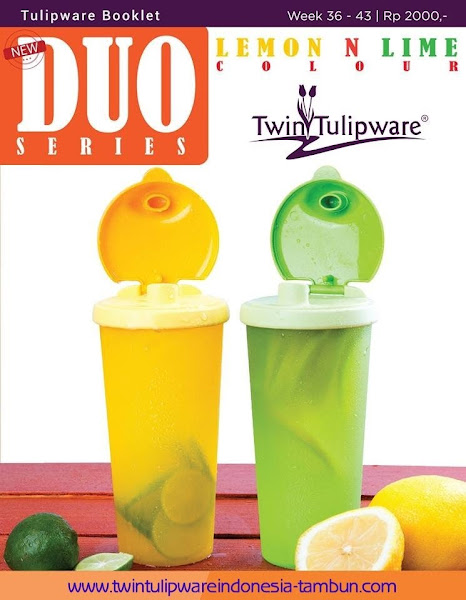Booklet - Katalog Twin Tulipware September - Oktober 2015