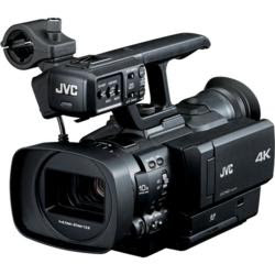 New JVC Powerful Professional Camcorder Records 4-times Full-HD