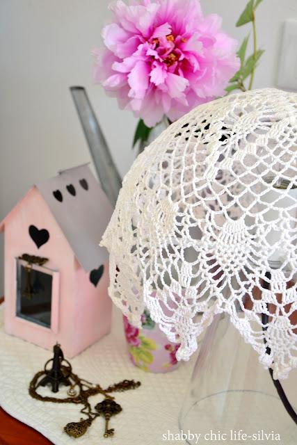 lampada crochet