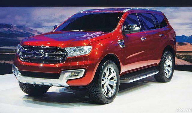 Lý do xe Ford Everest 2016 giá cao ngất ngưỡng