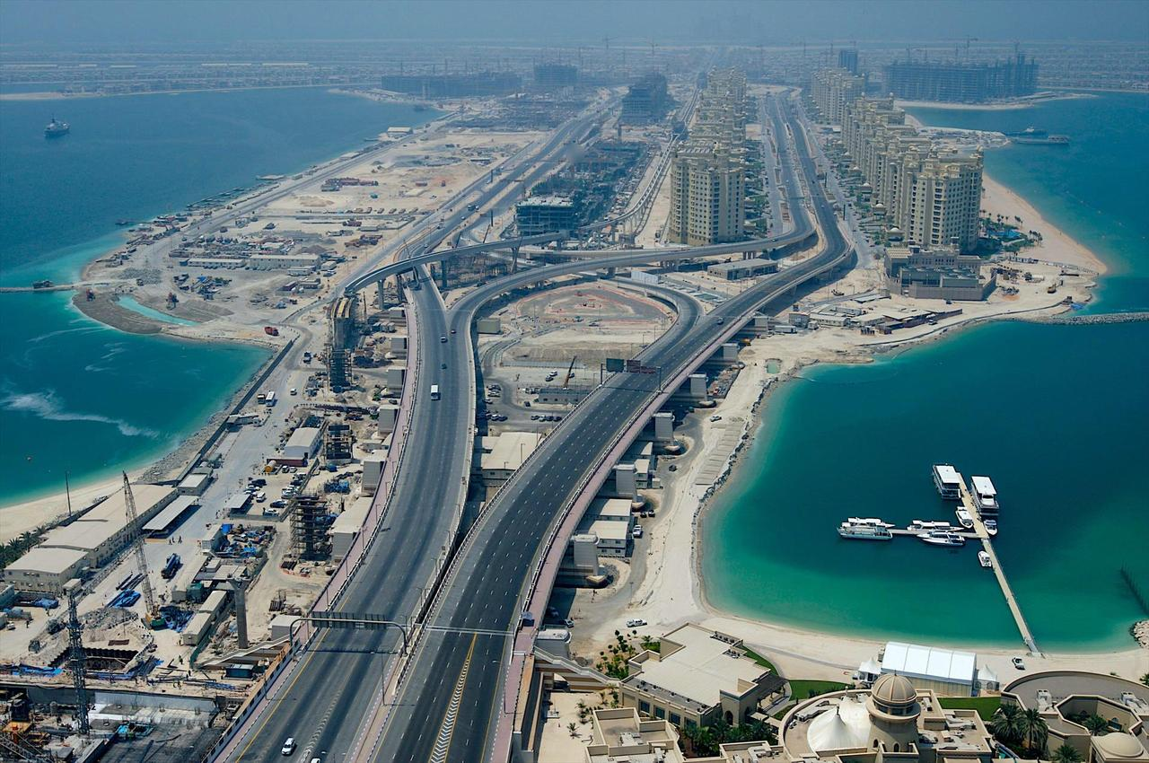 Palm Jumeirah DubaiThe World Dubai