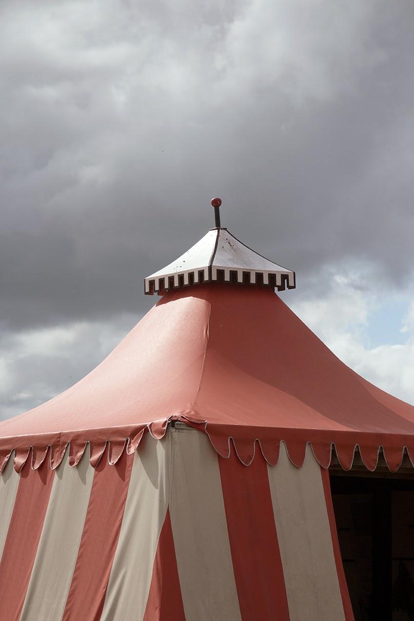 medieval looking tent
