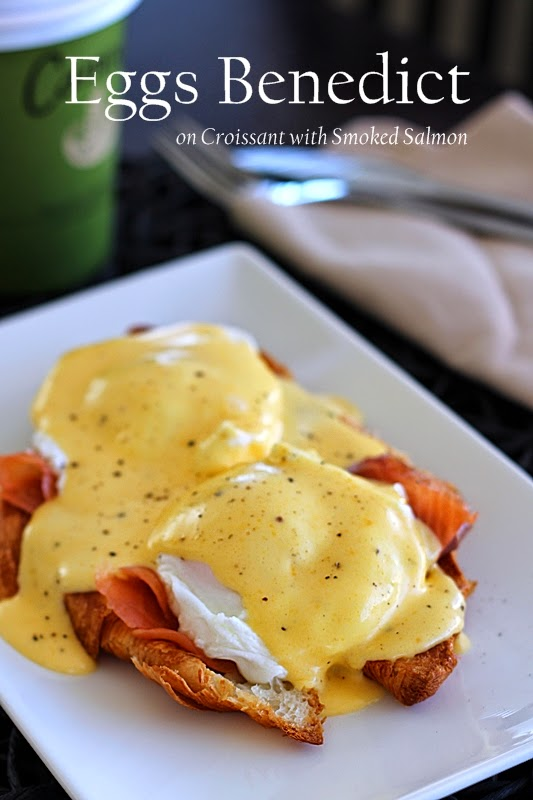 To Food with Love: Easy Smoked Salmon Eggs Benedict on ...