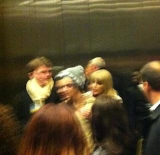 Harry Styles y Taylor Swift Madison Square garden año nuevo
