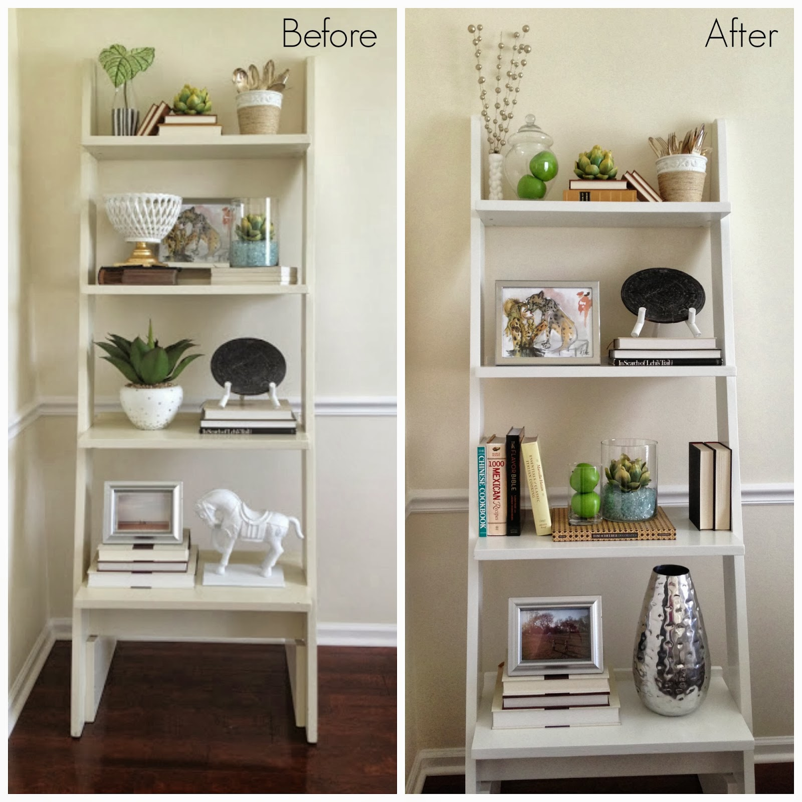 Inside out design dining room update shelves are finished - Dining room shelves ...