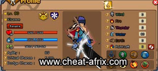 Cheat Open All In Shop Ninja Saga 2013