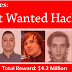 """5 أخطر هاكرز مبحوث عنهم في العالم تكشف عنهم الـ """"إف بي اي"""" و 4.2 مليون دولار لمن يساعد في القبض عليهم"""