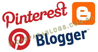 botão Pinterest no blogger