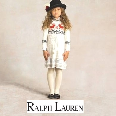 Princess Estelle - RALPH LAUREN Reindeer Dress
