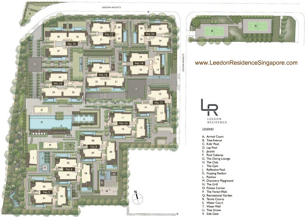 Leedon Residence Leedon Road Singapore Floor Plan Price