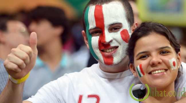 Fans Lokal Juga Dukung Jepang