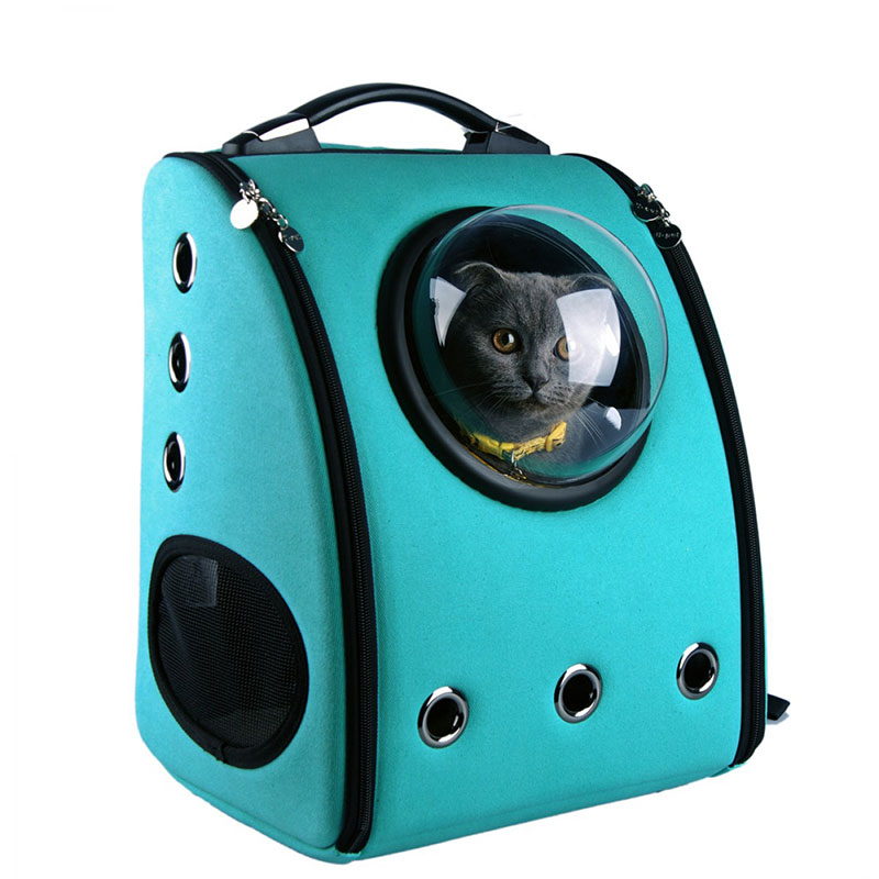 A Backpack Cat Carrier from U-Pet