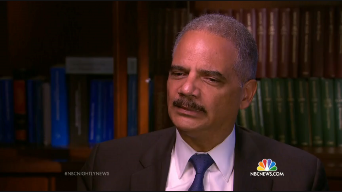 ... Includes A Brief Portion Of This Interview And Provides Significant  Insight Into The Thought Emotions Of Mr. Holder As He Answered These  Questions.