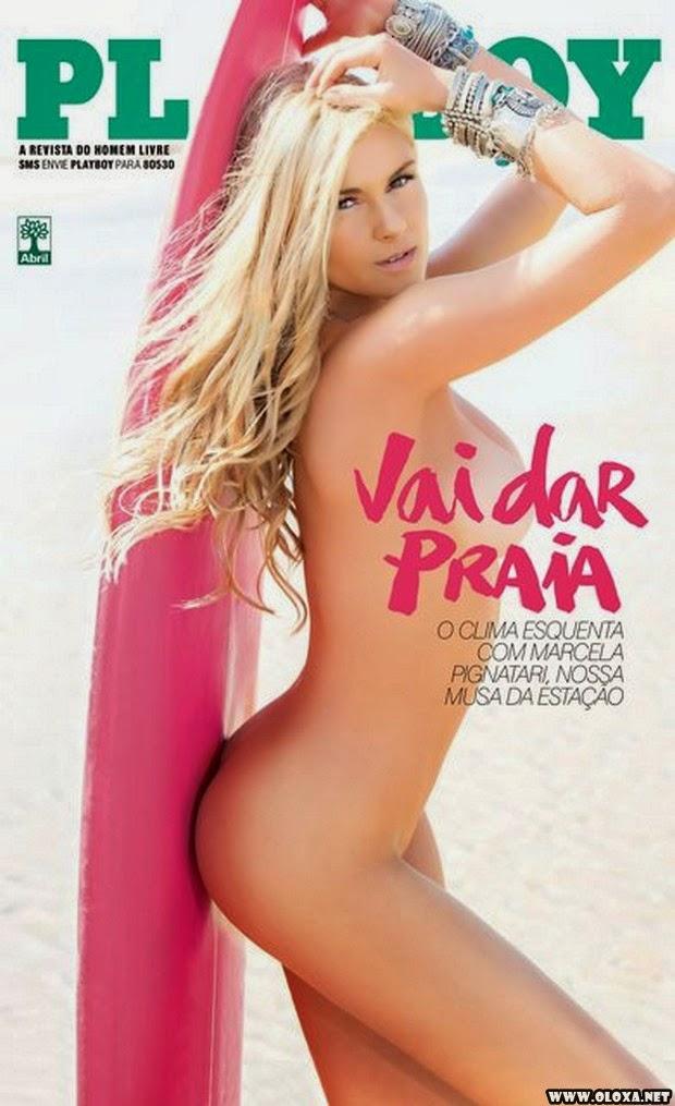 Playboy de Novembro - Marcela Pignatari