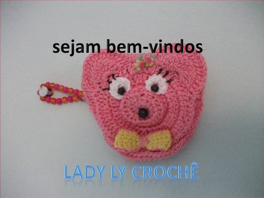 Lady ly crochê