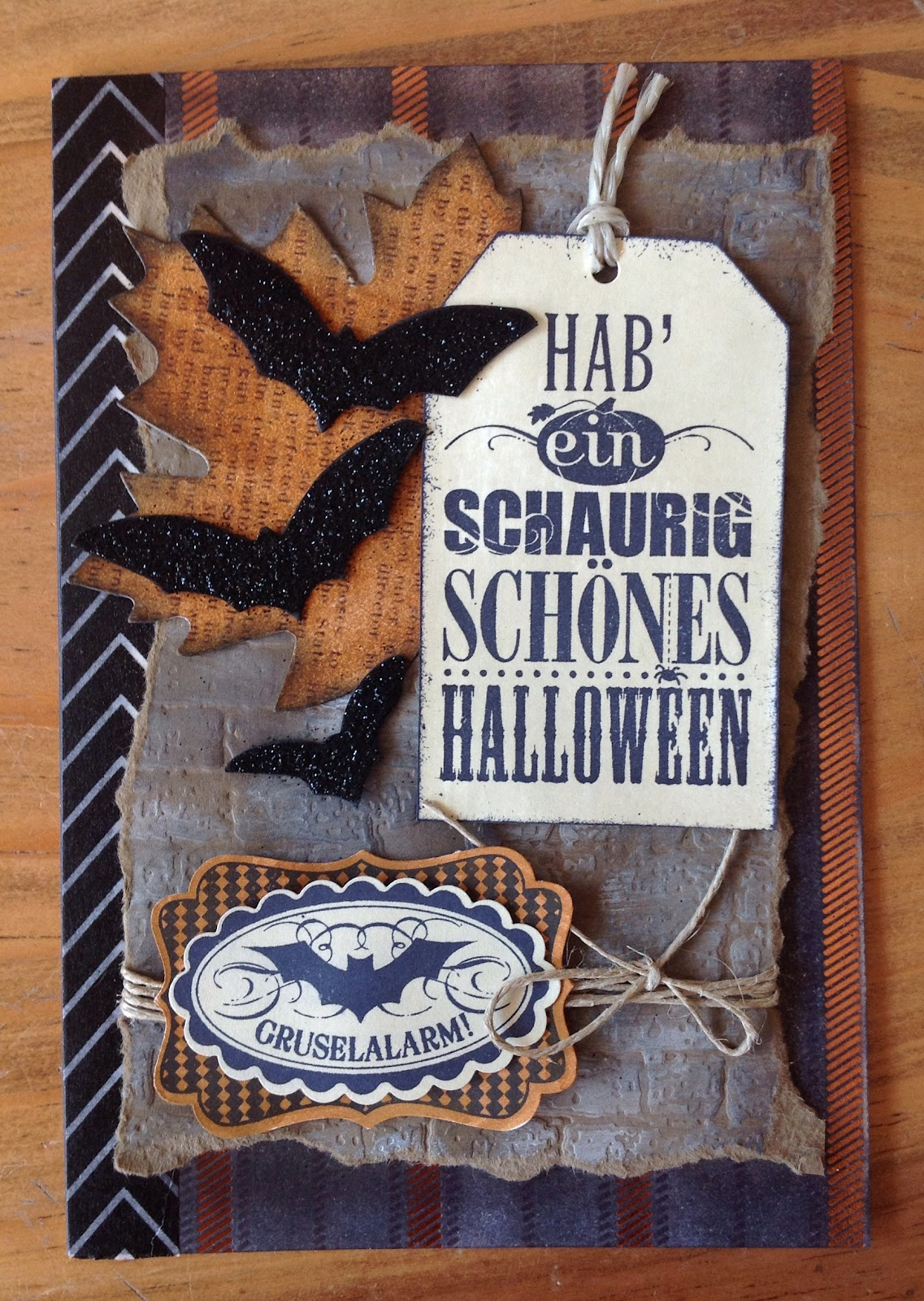Halloweenkarten mit Stampin`up