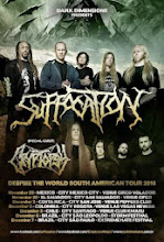 Recitales en Chile Diciembre :                                              Suffocation + Cryptopsy